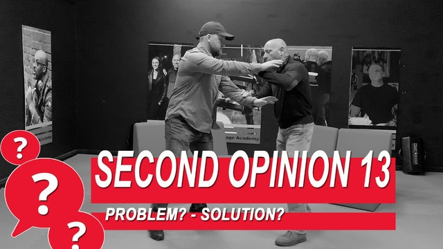 Second Opinion 13 - Problem? Solution?