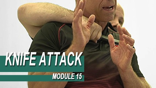 Knife Attack - Module 15 - Knife Threat From Behind