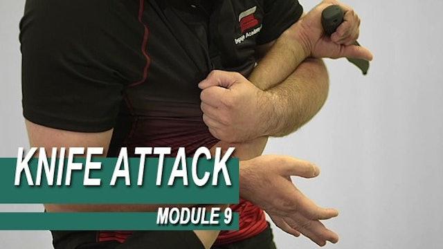 Knife Attack - Module 9 - Under Arm Knife Defence