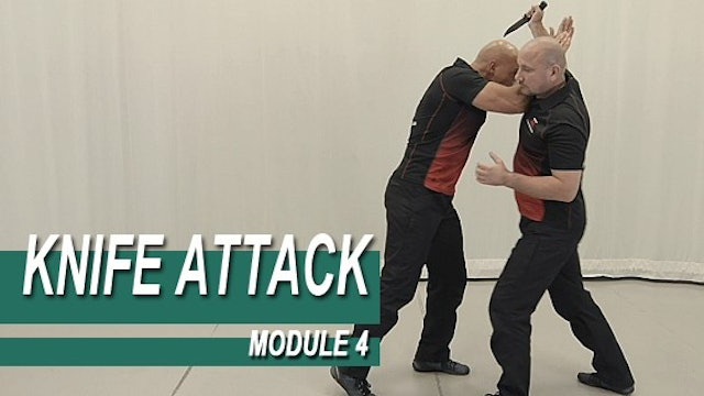 Knife Attack - Module 4 - Over Head Knife Attacks