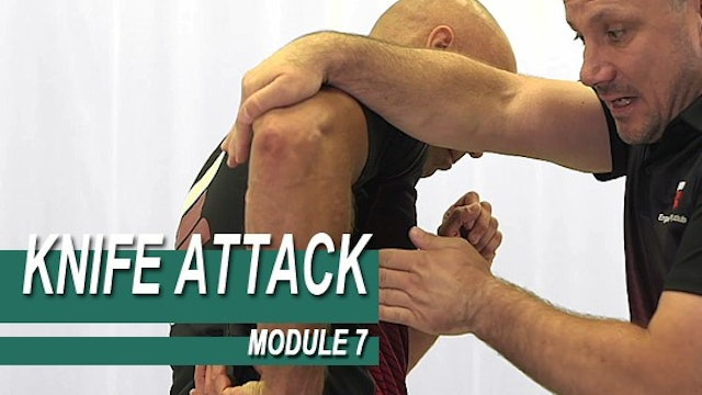 Knife Attack - Module 7 - Under Arm Knife Attack Pre Deployment