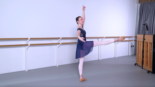 Ballet with Crystal Costa: Barre & Centre   1 (Advanced)