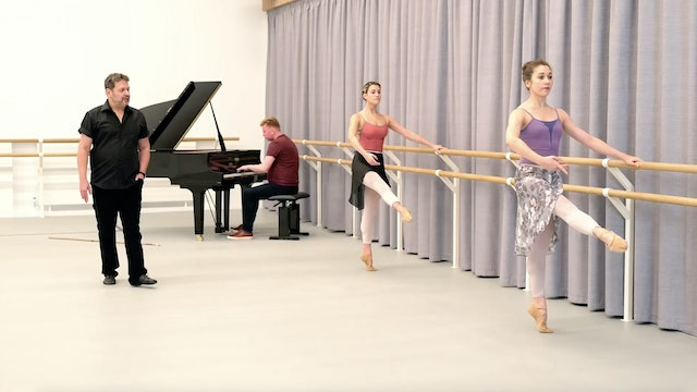 First Position Barre and Centre