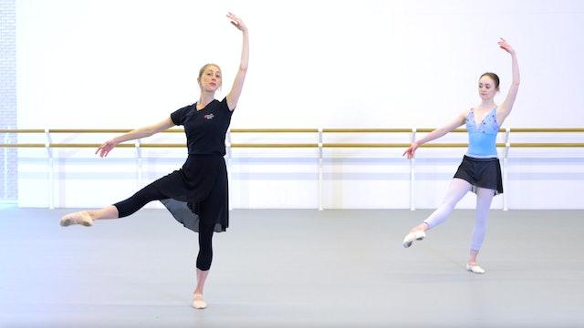 Ballet with Kate Hartley-Stevens: Barre & Centre | 1 (Intermediate)