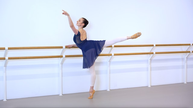 Ballet with Crystal Costa: Barre & Centre   2 (Intermediate)