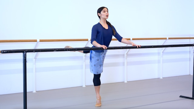 Ballet with Crystal Costa: Barre & Centre   4 (Intermediate)