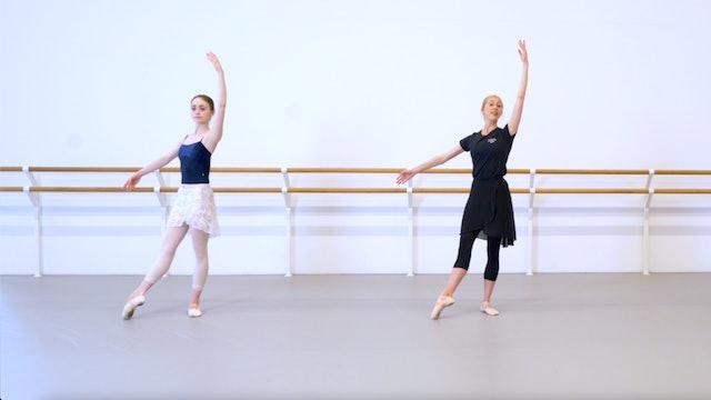 Ballet with Kate Hartley-Stevens: Barre & Centre | 1 (Improver)