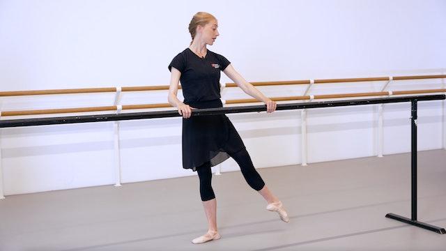 Ballet with Kate Hartley-Stevens: Barre | 2 (Improver)