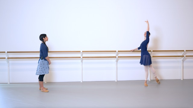 Ballet with Crystal Costa: Barre & Centre   4 (Advanced)