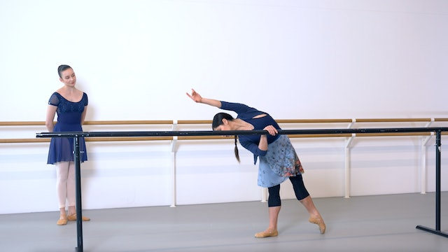 Ballet with Crystal Costa: Barre & Centre   3 (Advanced)