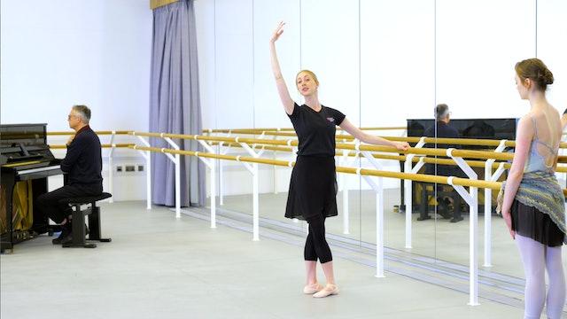 Ballet with Kate Hartley-Stevens: Barre | 1 (Intermediate)