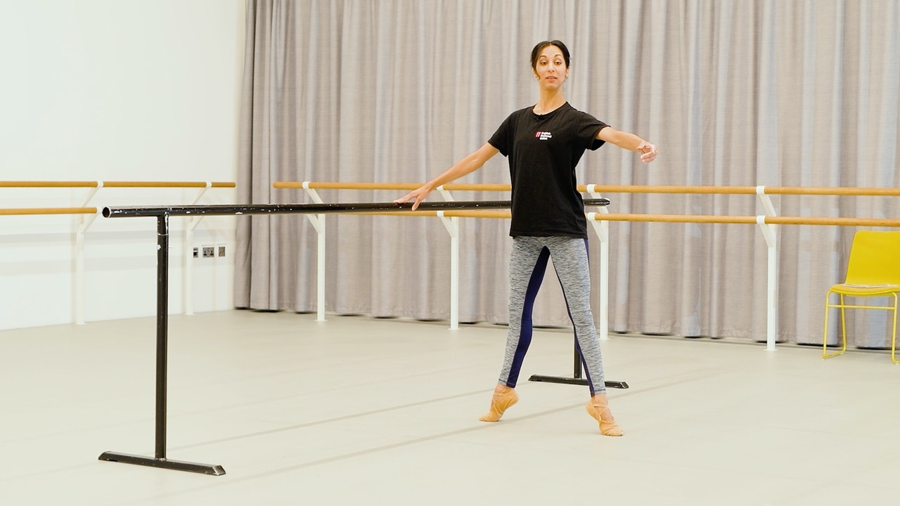 Ballet with Sarah Kundi