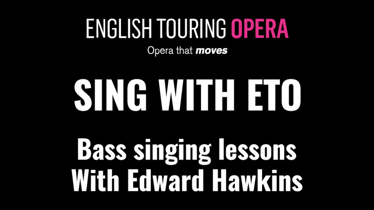 Singing lessons for basses