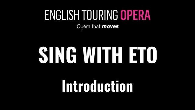 Welcome to Sing with ETO