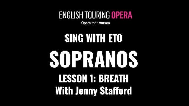 Soprano Lesson 1 - Breathing