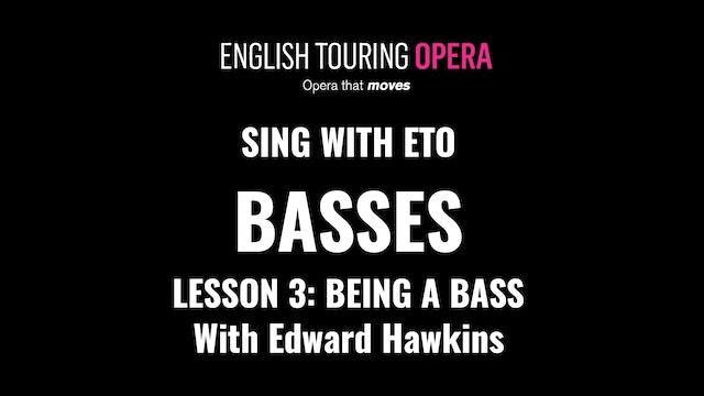 Bass Lesson 3 - Being a bass