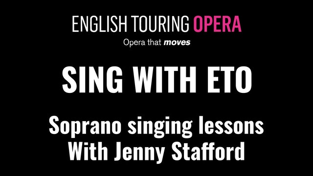 Singing lessons for sopranos