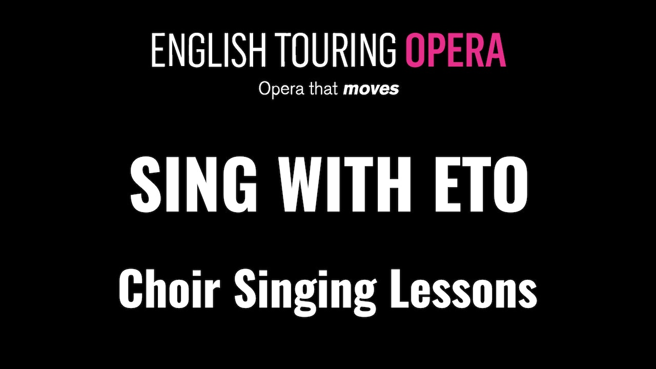 Sing with ETO: Choir Singing Lessons