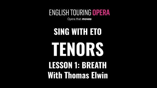 Tenor Lesson 1 - Breathing