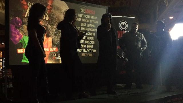 Theresa & Allison - NJ Horror Con Best Feature Award Speech (Spring 2019)