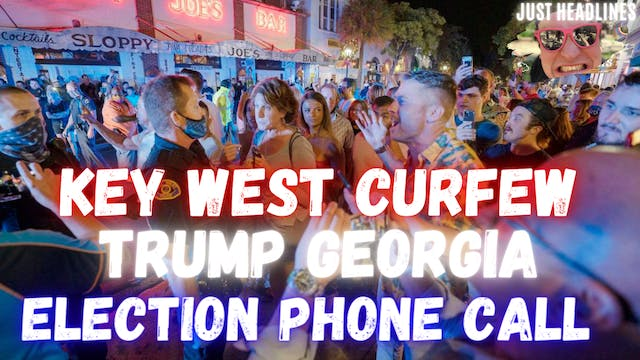 Key West New Years Curfew And Trumps ...