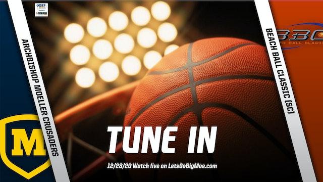 AUDIO ONLY: Moeller Basketball vs. Beach Ball Classic #1