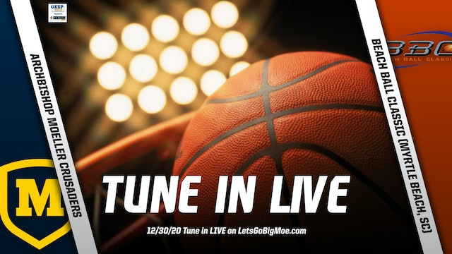 AUDIO ONLY: Moeller Basketball vs. Beach Ball Classic #3