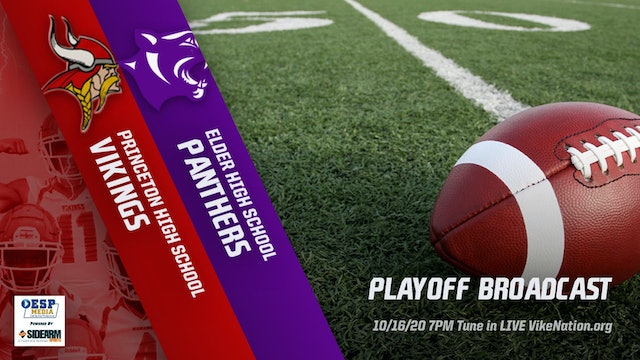 AUDIO ONLY: Princeton Football vs. Elder Panthers Playoffs