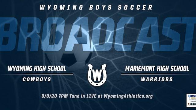 Wyoming Boys Soccer vs. Mariemont Warriors