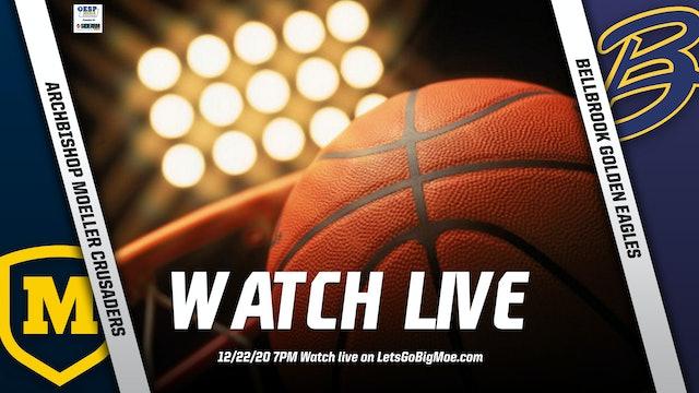 Moeller Basketball vs. Bellbrook Golden Eagles