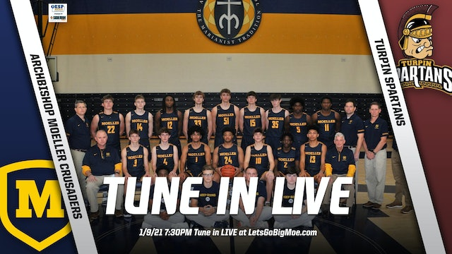 AUDIO ONLY - Moeller Basketball vs. Turpin Spartans