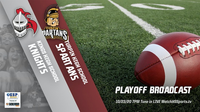 AUDIO ONLY: Kings Football vs. Turpin Spartans - Playoffs