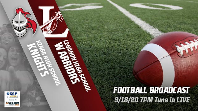 Kings Football vs. Lebanon Warriors