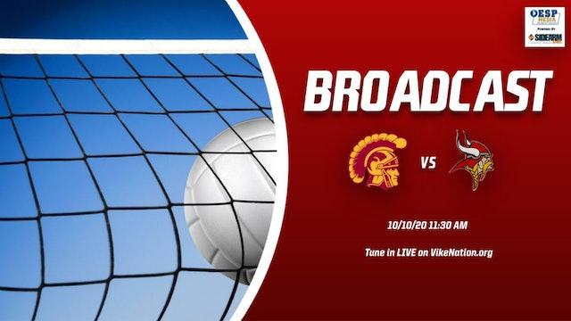 Princeton Volleyball vs North College Hill Trojans