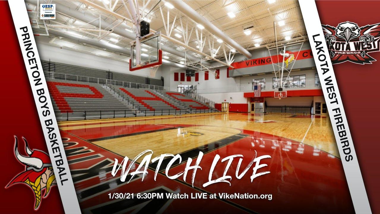 Princeton Boys Basketball vs. Lakota West