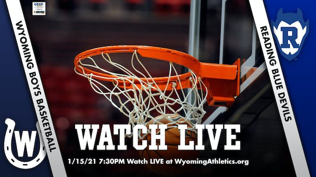 Wyoming Boys Basketball vs. Reading
