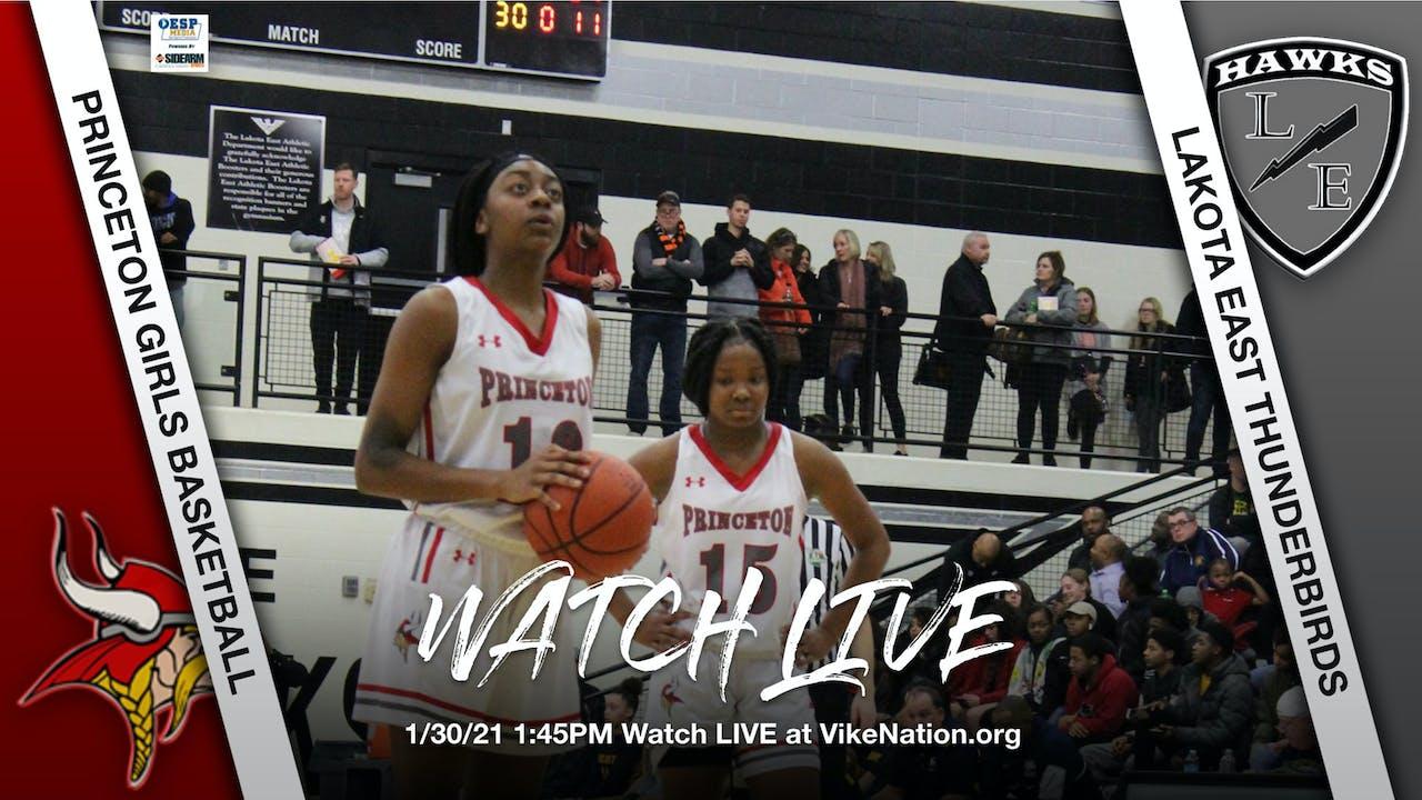 Princeton Girls Basketball vs. Lakota East