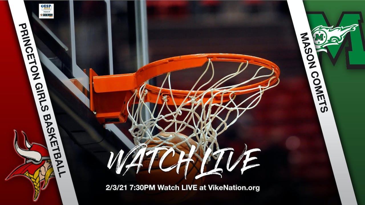Princeton Girls Basketball vs. Mason Comets