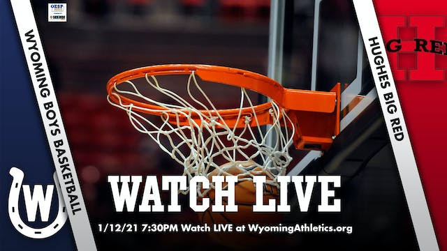 Wyoming Boys Basketball vs. Hughes