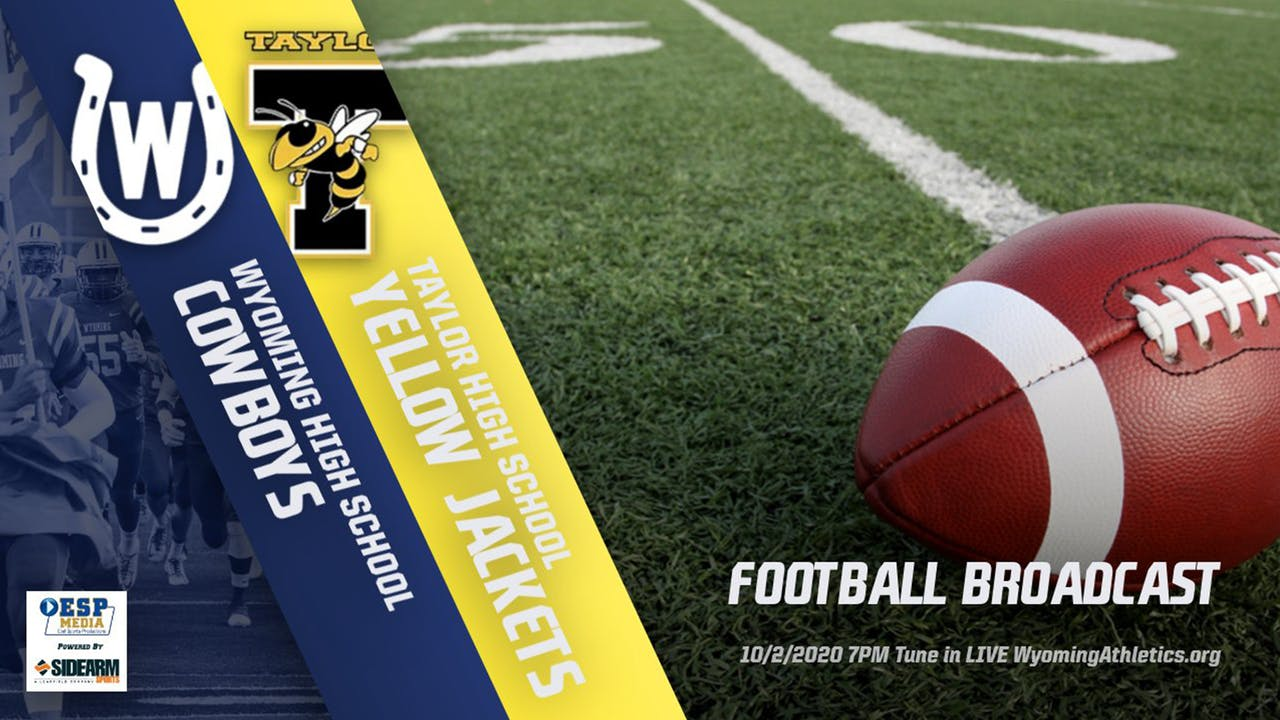 Wyoming Football vs. Taylor Yellow Jackets