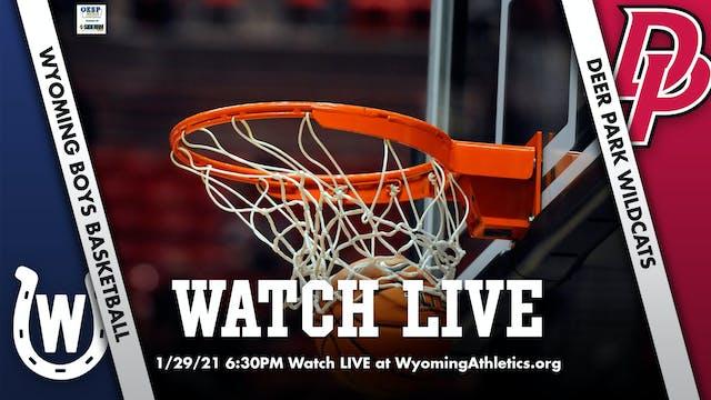 Wyoming Boys Basketball vs. Deer Park Wildcats