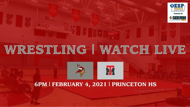 Princeton Varsity Wrestling vs. Trotwood-Madison Rams