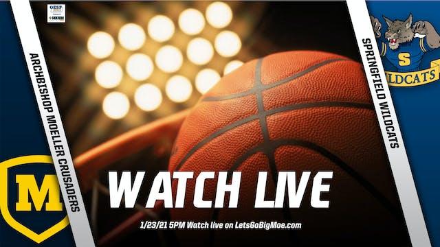 Moeller Basketball vs. Springfield Wildcats