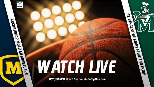 Moeller Basketball vs. Akron St. Vincent St. Mary Irish