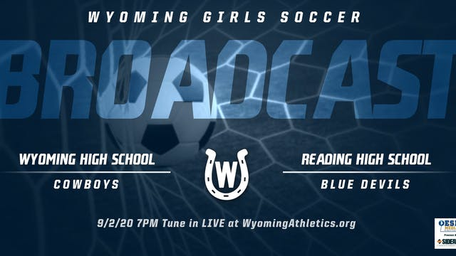 Wyoming Girls Soccer vs. Reading Blue...