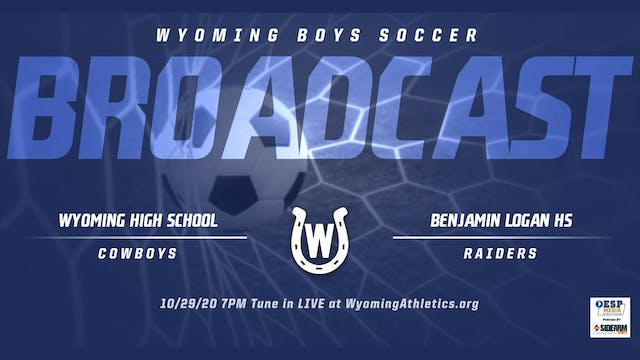 Wyoming Boys Soccer vs. Logan Raiders...