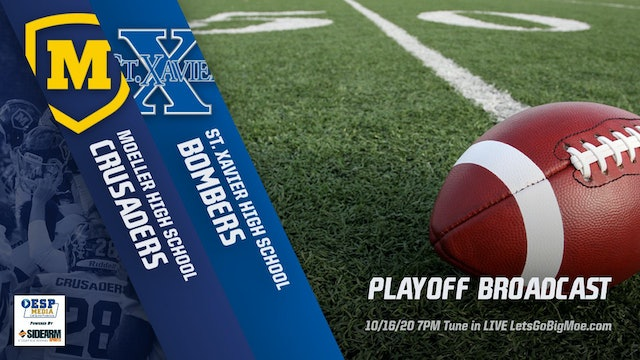 AUDIO ONLY: Moeller Football vs. St. Xavier Bombers Playoffs