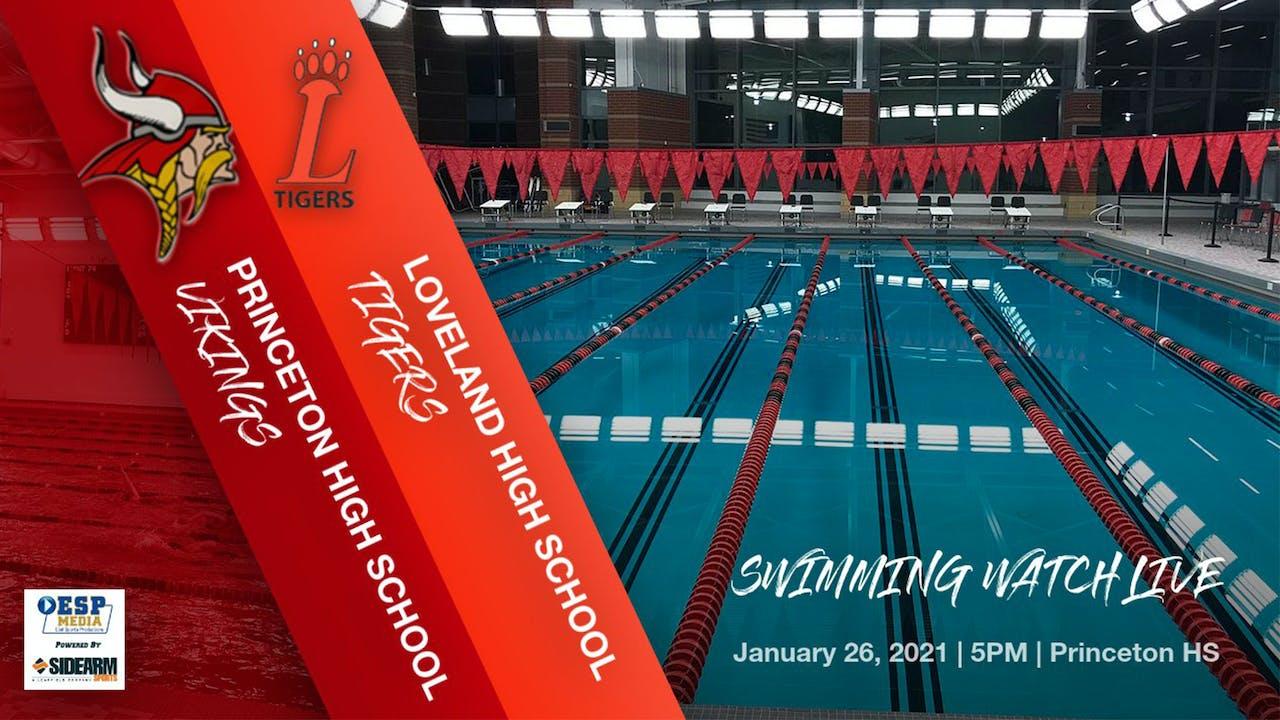 Princeton Swimming vs. Loveland Tigers