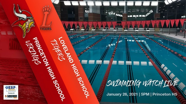 Princeton Swimming vs. Loveland Tigers