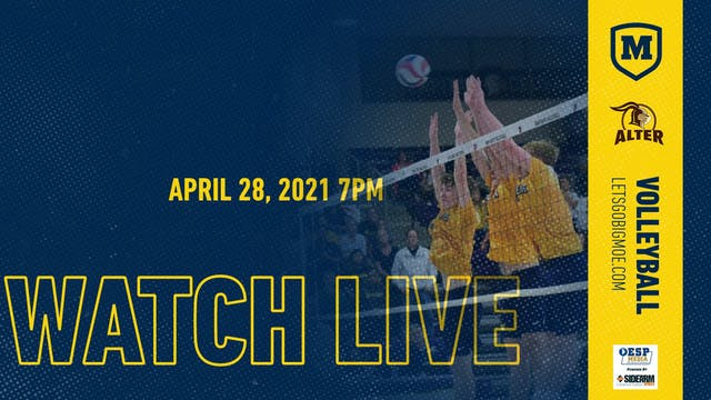 Moeller Varsity Volleyball vs. Alter ...